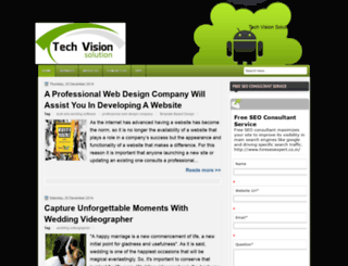 techvisionsolution.blogspot.fr screenshot