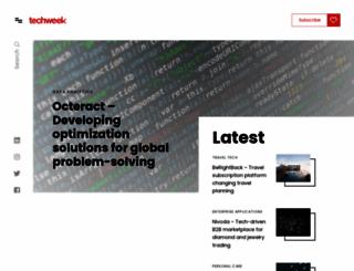 techweek.com screenshot