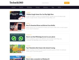 techwiki360.com screenshot