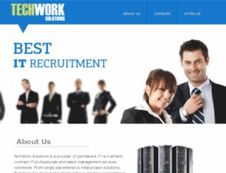 techwork-solutions.com screenshot