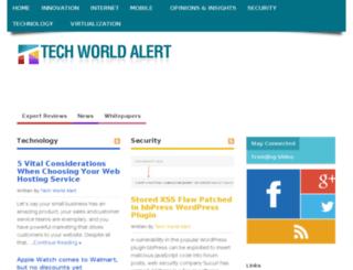 techworldalert.com screenshot