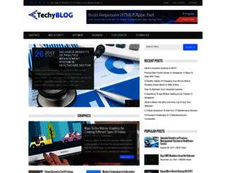 techyblog.org screenshot