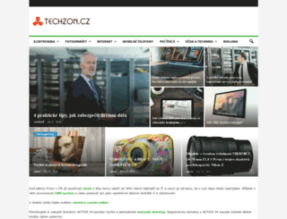 techzon.cz screenshot