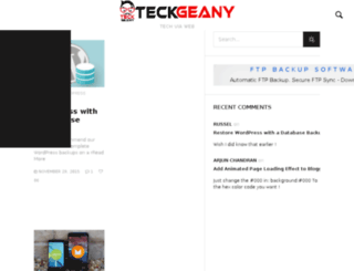 teckgeany.com screenshot