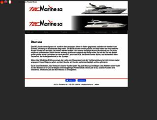 tecmarine.ch screenshot