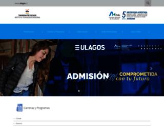tecmontt.ulagos.cl screenshot