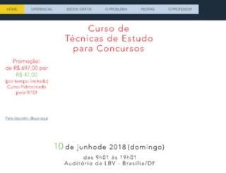 tecnicasdeestudo.com.br screenshot