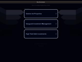 tecnicodeproyectos.com screenshot