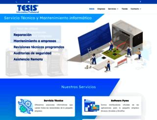 tecniconline.es screenshot
