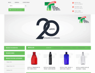 tecnienvasessa.com.mx screenshot