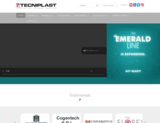tecniplast.it screenshot