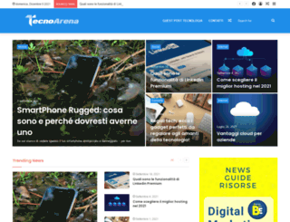 tecnoarena.net screenshot