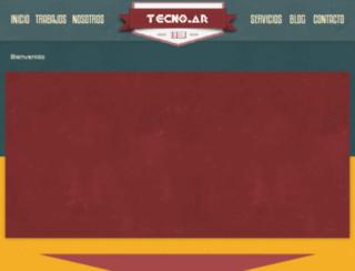 tecnoargchu.com.ar screenshot