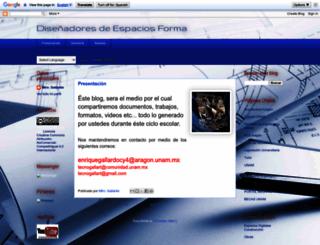tecnogallart2.blogspot.mx screenshot