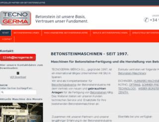 tecnogerma-deutsch.jimdo.com screenshot