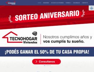 tecnohogarviviendas.com.ar screenshot