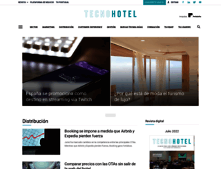 tecnohotelnews.com screenshot
