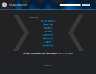 tecnologia.hondublogs.com screenshot
