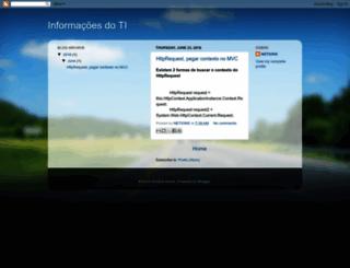 tecnologiaboa.blogspot.com.br screenshot