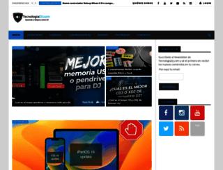 tecnologiadj.com screenshot