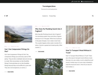 tecnologiaslibres.net screenshot