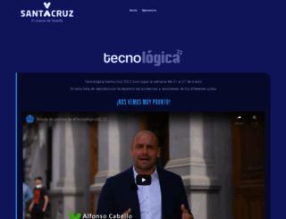 tecnologicasantacruz.com screenshot