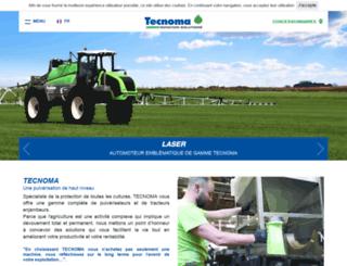 tecnoma.com screenshot