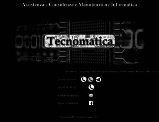 tecnomatica.biz screenshot