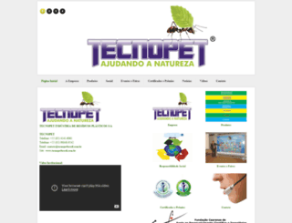 tecnopetbrasil.com.br screenshot