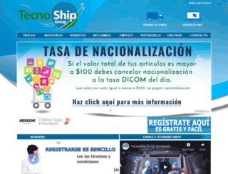 tecnoshipgroup.com.ve screenshot