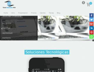 tecnosolucionesweb.com screenshot