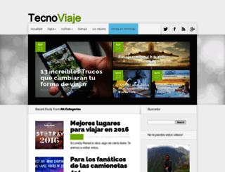 tecnoviaje.com screenshot