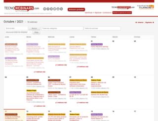 tecnowebinars.com screenshot