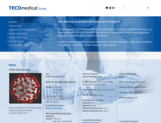 teco-medical.ch screenshot