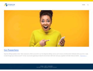 tecosupport.com screenshot