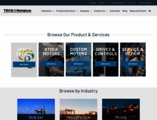 tecowestinghouse.com screenshot