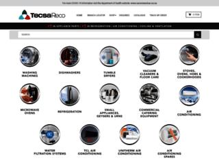 tecsareco.co.za screenshot