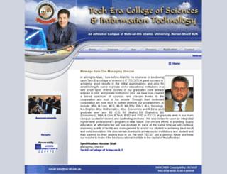 tecsit.edu.pk screenshot