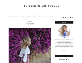 tecuentomistrucos.com screenshot