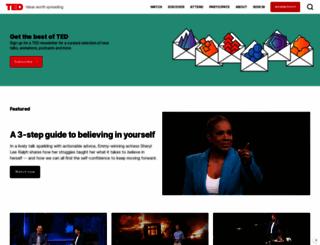 ted.com screenshot