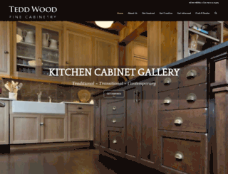 teddwood.com screenshot