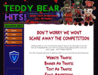 teddybearhits.com screenshot