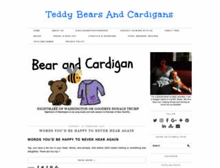 teddybearsandcardigans.com screenshot