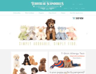 teddybearschnoodles.com screenshot