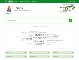 tede2.pucrs.br screenshot