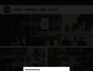tedi.com screenshot