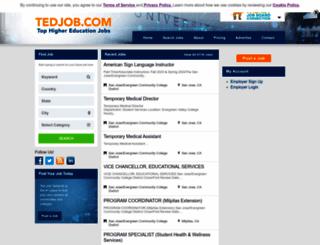 tedjob.com screenshot