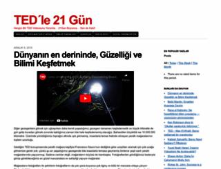 tedle21gun.wordpress.com screenshot