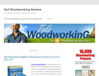 tedwoodworking.com screenshot