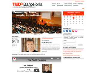 tedxbarcelona.com screenshot